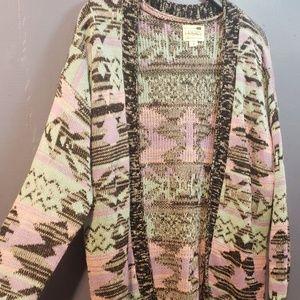 La Hearts Sweaters - LA Hearts Multicolored Cardigan